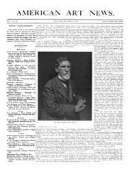 American Art News : 1907 Vol. 5 No. 34 S... Volume Vol. 5 by Esterow, Milton