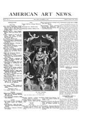 American Art News : 1907 Vol. 6 No. 4 No... Volume Vol. 6 by Esterow, Milton