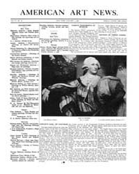 American Art News : 1908 Vol. 6 No. 12 J... Volume Vol. 6 by Esterow, Milton