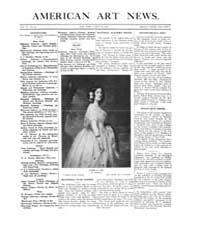 American Art News : 1908 Vol. 6 No. 24 M... Volume Vol. 6 by Esterow, Milton