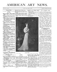 American Art News : 1908 Vol. 6 No. 28 A... Volume Vol. 6 by Esterow, Milton