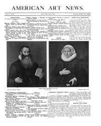 American Art News : 1908 Vol. 6 No. 29 M... Volume Vol. 6 by Esterow, Milton