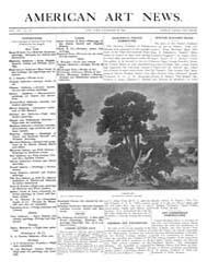 American Art News : 1908 Vol. 7 No. 11 D... Volume Vol. 7 by Esterow, Milton