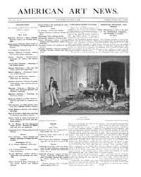 American Art News : 1908 Vol. 7 No. 2 Oc... Volume Vol. 7 by Esterow, Milton