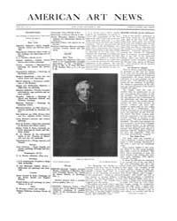 American Art News : 1908 Vol. 7 No. 3 Oc... Volume Vol. 7 by Esterow, Milton