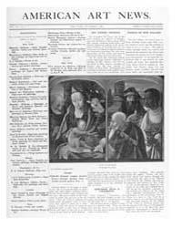American Art News : 1908 Vol. 7 No. 4 No... Volume Vol. 7 by Esterow, Milton
