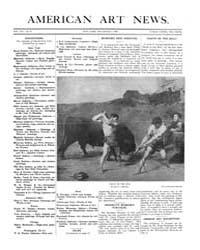 American Art News : 1908 Vol. 7 No. 8 De... Volume Vol. 7 by Esterow, Milton
