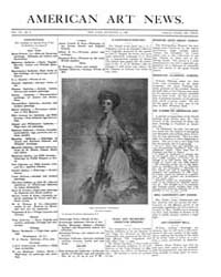 American Art News : 1908 Vol. 7 No. 9 De... Volume Vol. 7 by Esterow, Milton