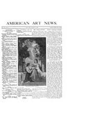 American Art News : 1909 Vol. 7 No. 14 J... Volume Vol. 7 by Esterow, Milton