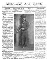 American Art News : 1909 Vol. 7 No. 17 F... Volume Vol. 7 by Esterow, Milton