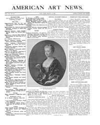 American Art News : 1909 Vol. 7 No. 22 M... Volume Vol. 7 by Esterow, Milton