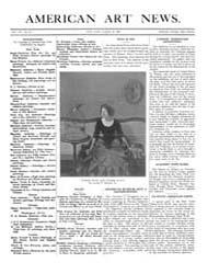 American Art News : 1909 Vol. 7 No. 23 M... Volume Vol. 7 by Esterow, Milton