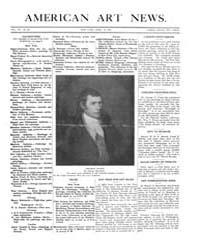 American Art News : 1909 Vol. 7 No. 26 A... Volume Vol. 7 by Esterow, Milton