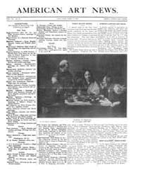 American Art News : 1909 Vol. 7 No. 27 A... Volume Vol. 7 by Esterow, Milton