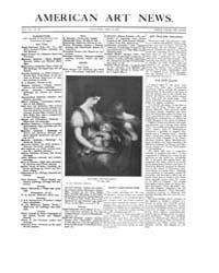 American Art News : 1909 Vol. 7 No. 28 A... Volume Vol. 7 by Esterow, Milton
