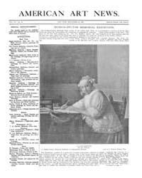 American Art News : 1909 Vol. 7 No. 35 S... Volume Vol. 7 by Esterow, Milton