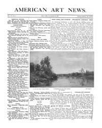 American Art News : 1909 Vol. 8 No. 6 No... Volume Vol. 8 by Esterow, Milton
