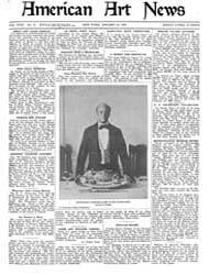 American Art News : 1920 Vol. 18 No. 14 ... Volume Vol. 18 by Esterow, Milton