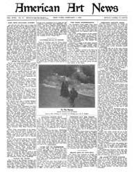 American Art News : 1920 Vol. 18 No. 16 ... Volume Vol. 18 by Esterow, Milton