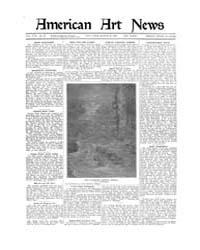 American Art News : 1920 Vol. 18 No. 23 ... Volume Vol. 18 by Esterow, Milton