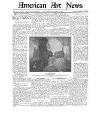 American Art News : 1920 Vol. 18 No. 39 ... Volume Vol. 18 by Esterow, Milton