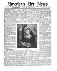 American Art News : 1920 Vol. 19 No. 10 ... Volume Vol. 19 by Esterow, Milton