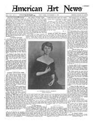 American Art News : 1920 Vol. 19 No. 4 N... Volume Vol. 19 by Esterow, Milton