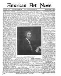 American Art News : 1920 Vol. 19 No. 6 N... Volume Vol. 19 by Esterow, Milton