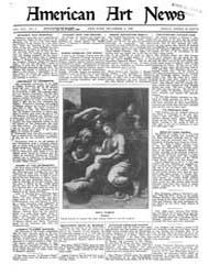 American Art News : 1920 Vol. 19 No. 9 D... Volume Vol. 19 by Esterow, Milton