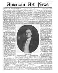 American Art News : 1921 Vol. 19 No. 12 ... Volume Vol. 19 by Esterow, Milton