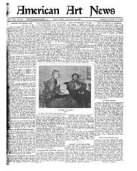 American Art News : 1921 Vol. 19 No. 15 ... Volume Vol. 19 by Esterow, Milton