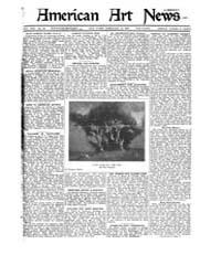 American Art News : 1921 Vol. 19 No. 18 ... Volume Vol. 19 by Esterow, Milton