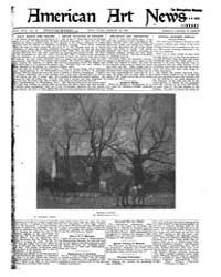 American Art News : 1921 Vol. 19 No. 22 ... Volume Vol. 19 by Esterow, Milton