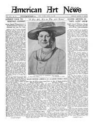American Art News : 1921 Vol. 19 No. 27 ... Volume Vol. 19 by Esterow, Milton