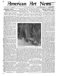 American Art News : 1921 Vol. 19 No. 31 ... Volume Vol. 19 by Esterow, Milton