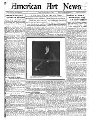 American Art News : 1921 Vol. 19 No. 32 ... Volume Vol. 19 by Esterow, Milton