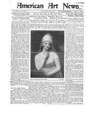 American Art News : 1921 Vol. 19 No. 34 ... Volume Vol. 19 by Esterow, Milton