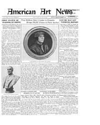 American Art News : 1921 Vol. 19 No. 35 ... Volume Vol. 19 by Esterow, Milton