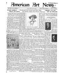 American Art News : 1921 Vol. 19 No. 36 ... Volume Vol. 19 by Esterow, Milton