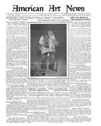American Art News : 1921 Vol. 19 No. 40 ... Volume Vol. 19 by Esterow, Milton