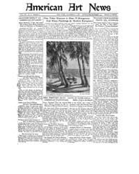American Art News : 1921 Vol. 20 No. 4 N... Volume Vol. 20 by Esterow, Milton