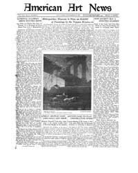 American Art News : 1921 Vol. 20 No. 6 N... Volume Vol. 20 by Esterow, Milton