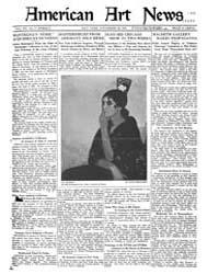 American Art News : 1921 Vol. 20 No. 7 N... Volume Vol. 20 by Esterow, Milton
