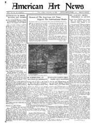 American Art News : 1922 Vol. 20 No. 14 ... Volume Vol. 20 by Esterow, Milton