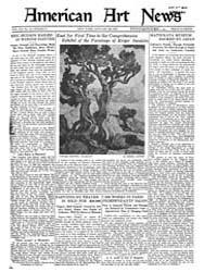 American Art News : 1922 Vol. 20 No. 16 ... Volume Vol. 20 by Esterow, Milton