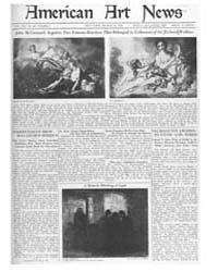 American Art News : 1922 Vol. 20 No. 22 ... Volume Vol. 20 by Esterow, Milton