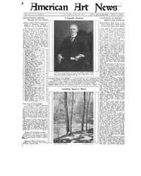 American Art News : 1922 Vol. 20 No. 24 ... Volume Vol. 20 by Esterow, Milton