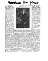 American Art News : 1922 Vol. 20 No. 27 ... Volume Vol. 20 by Esterow, Milton
