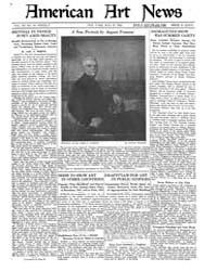 American Art News : 1922 Vol. 20 No. 33 ... Volume Vol. 20 by Esterow, Milton