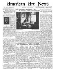 American Art News : 1922 Vol. 20 No. 39 ... Volume Vol. 20 by Esterow, Milton